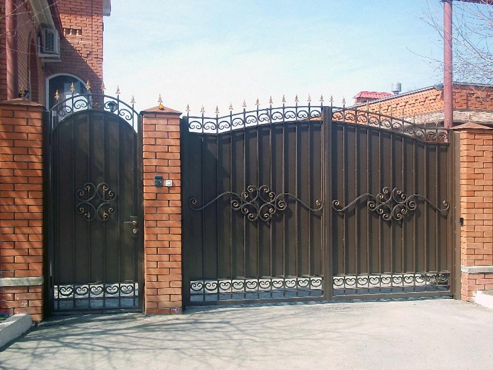 широкий выбор кованые ворота в благовещенске цены утонченные, свежие запахи